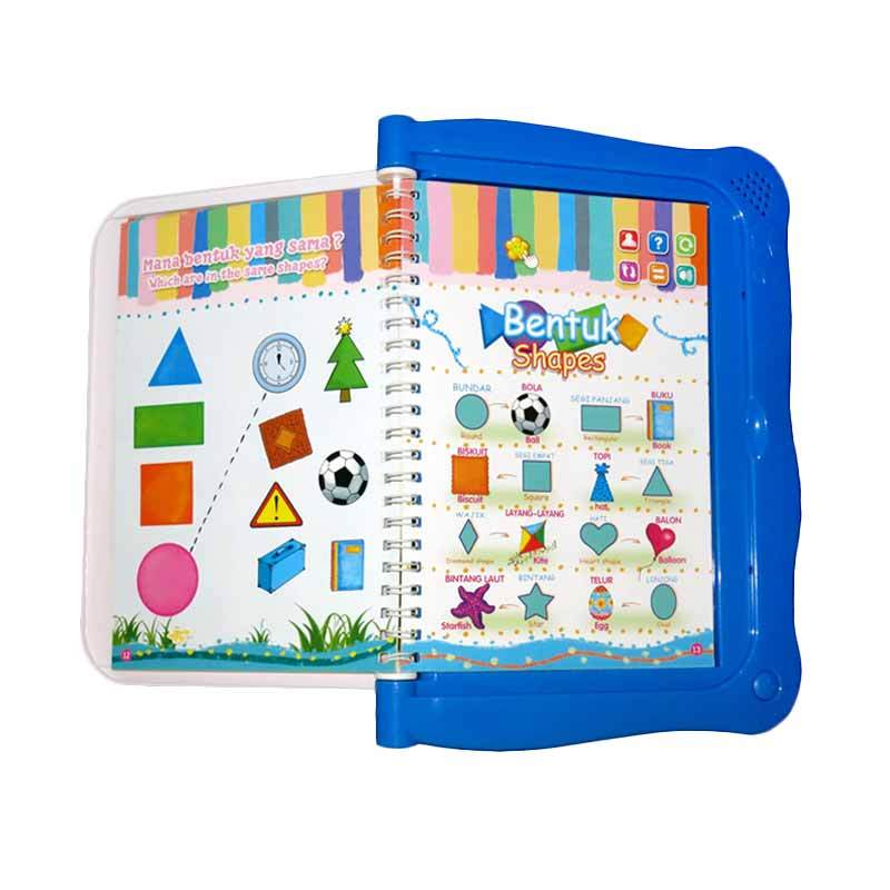 Mynasional - 7L ELECTRONIC BOOK IND-ENG B/O - Blue