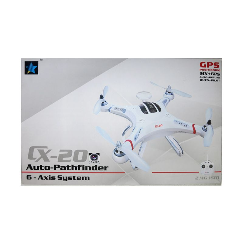 Mynasional 7L ISM 6byAxis System Plane R/C White Mainan Anak