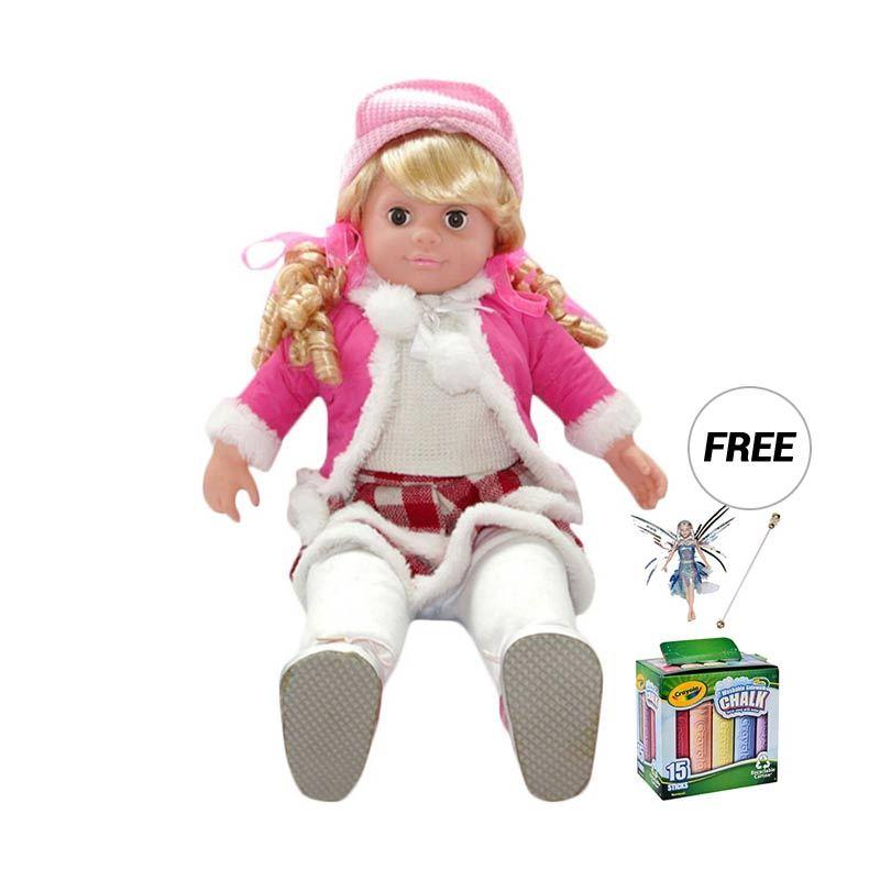 Mynasional - Boneka Paket 7L Interactive Doll Big Size - Model 1