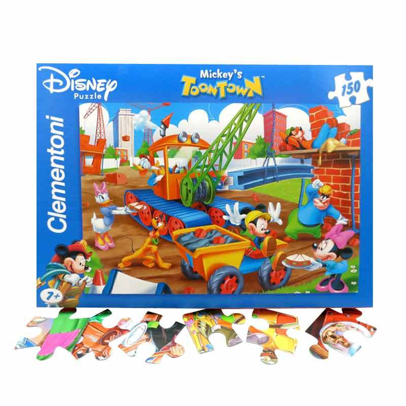 CLEMENTONI - S.COLOR 150 - MICKEY TOON TOWN