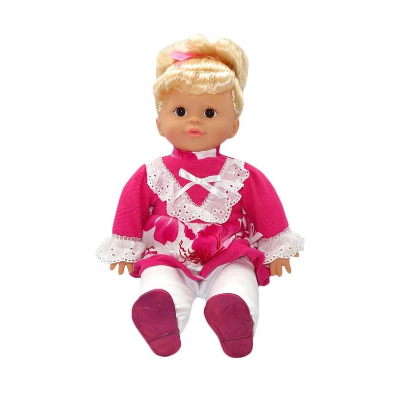 My Nasional - Interactive Doll (IND-ENG) - Dress Pink Flower