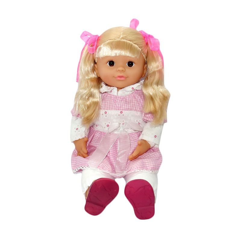 My Nasional - Interactive Doll (IND-ENG) - Dress Pink