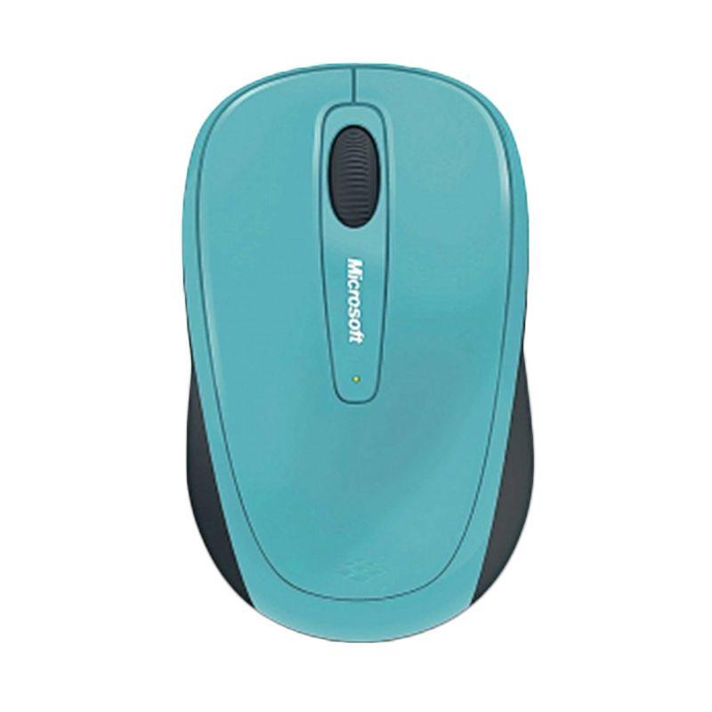 Microsoft wireless mobile mouse 3500 bluetrack mac/win usb nano receiver coast blue