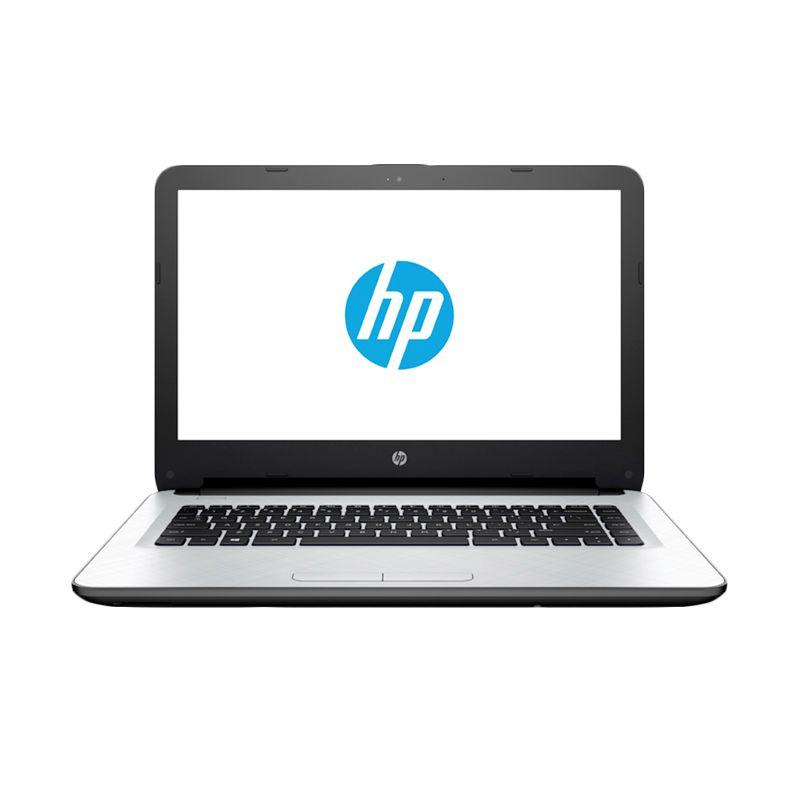 HP 14-AC002TU Putih Notebook [N3050/2 GB/500 GB/14 Inch/DOS]