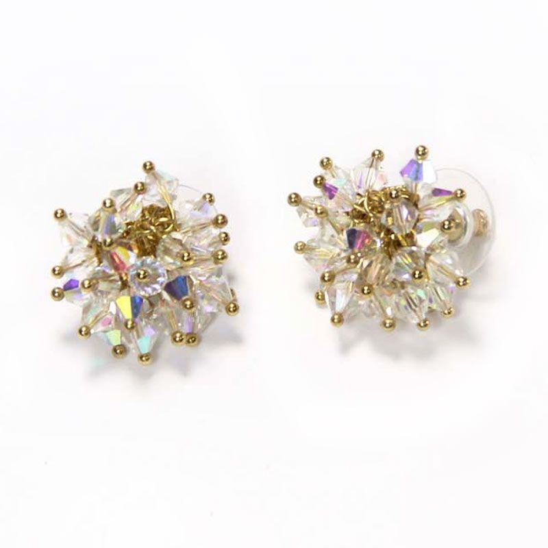 Myth Couture Crystal Splash Earring