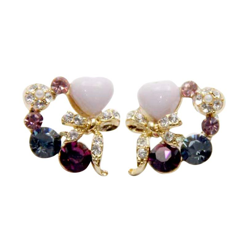 Myth Couture Marry Me Purple Earring