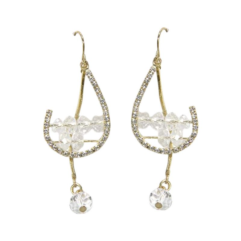 Myth Couture Queen Harp Earring