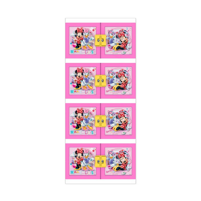 harga Naiba Lemari Plastik Minnie 8664 XP - Pink Blibli.com