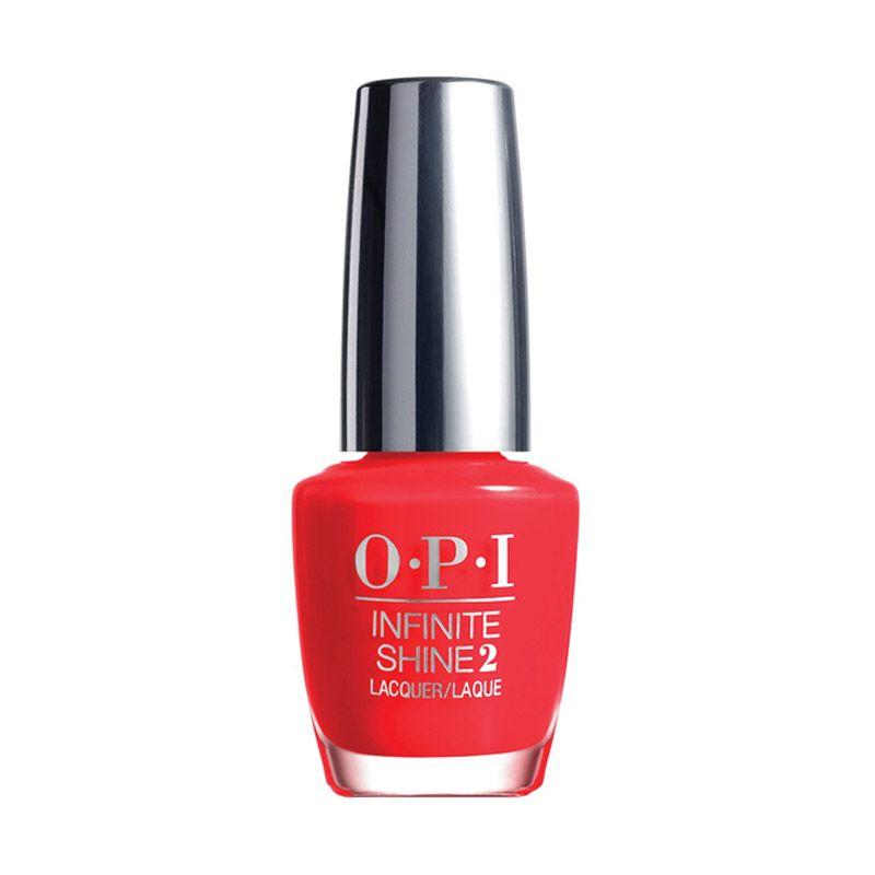 Kutek OPI Infinite Shine - Unrepentantly Red