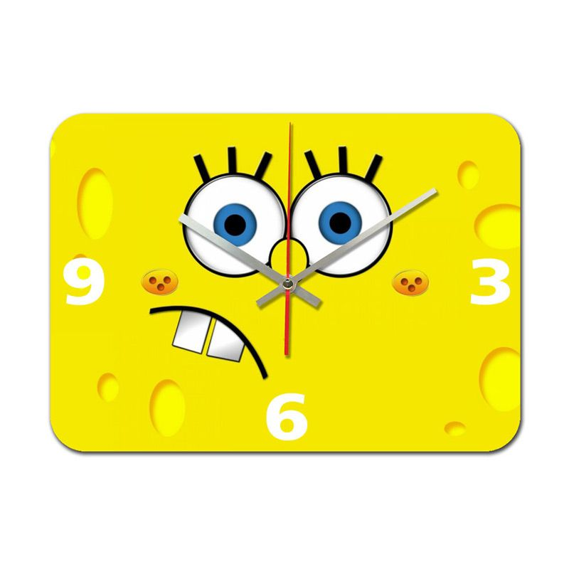 Nail Your Art SPONGEBOB NYA141207 Jam Dinding