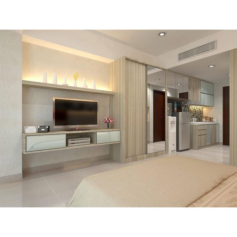 Jual nanawood interior furniture apartemen type studio for Interior apartemen studio
