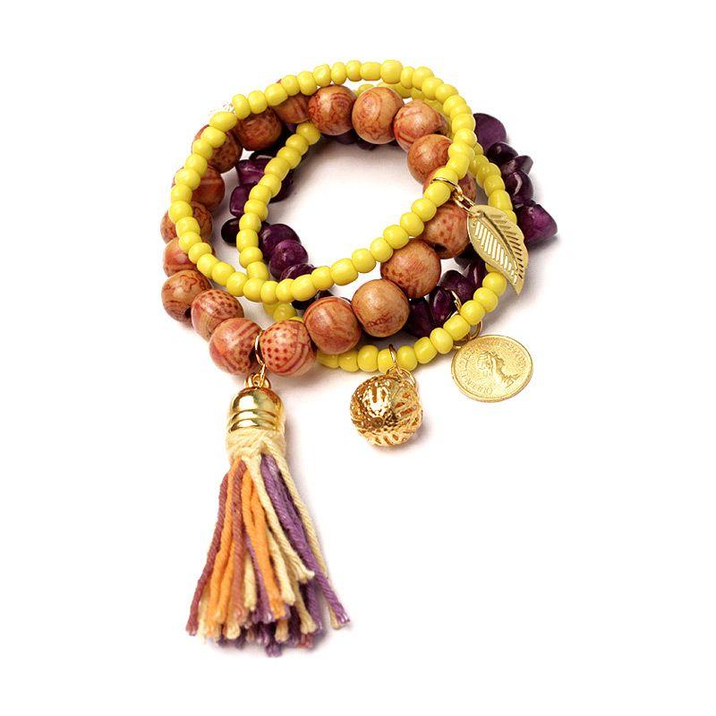 Handmade Nandhut Handmade 672 Multicolor Gelang Wanita