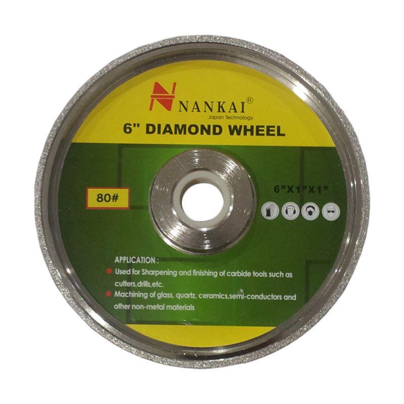 Nankai Diamond Grinding Wheel #400 Batu Asah [6 Inch]