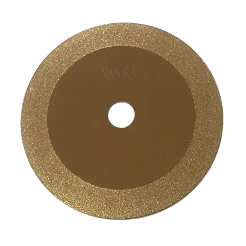 Perkakas Nankai Diamond Cutting Disc Gold Pisau Potong Batu Akik [6 Inch]