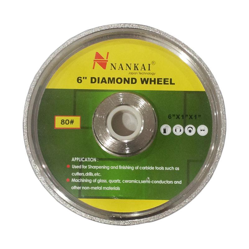 Nankai Diamond Grinding Wheel - Batu Asah Poles Akik Diamond [6 Inch] #320
