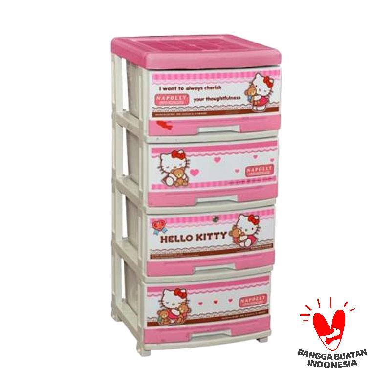 Napolly Hello Kitty Series SFC2-4000 HKBF Lemari 4 Susun