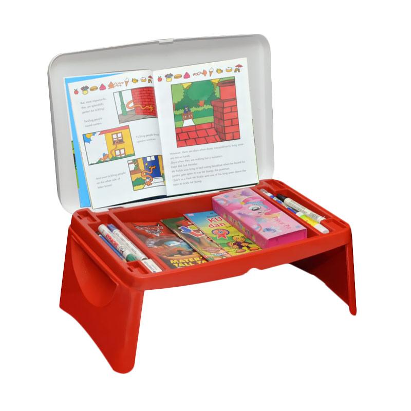 Jual Napolly Lap Desk Howl Meja Gambar - Merah Online - Harga & Kualitas Terjamin | Blibli.com