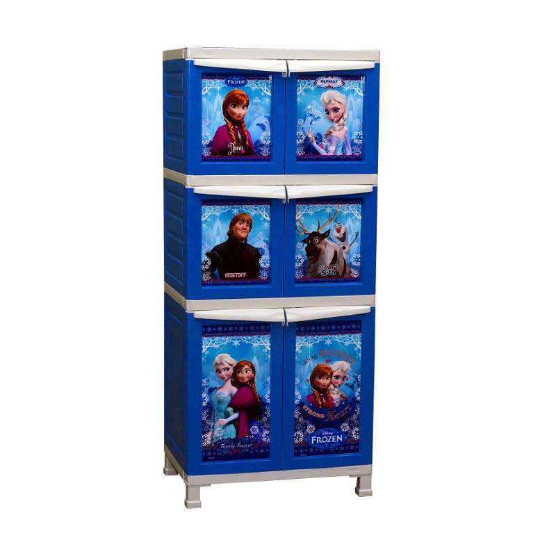 harga Napolly Lemari BCBC-XX2 Frozen Series [3 Susun] Blibli.com