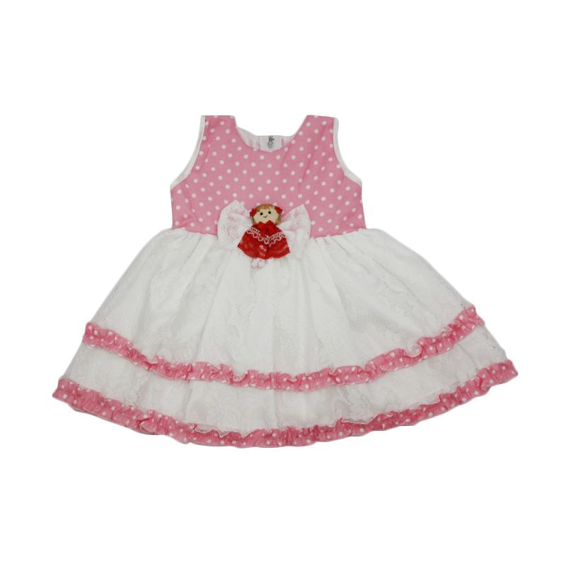 Nathanie Baby Angela Pink Dress Anak Perempuan