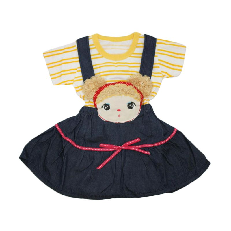 Nathanie Baby Ann Yellow Dress Anak
