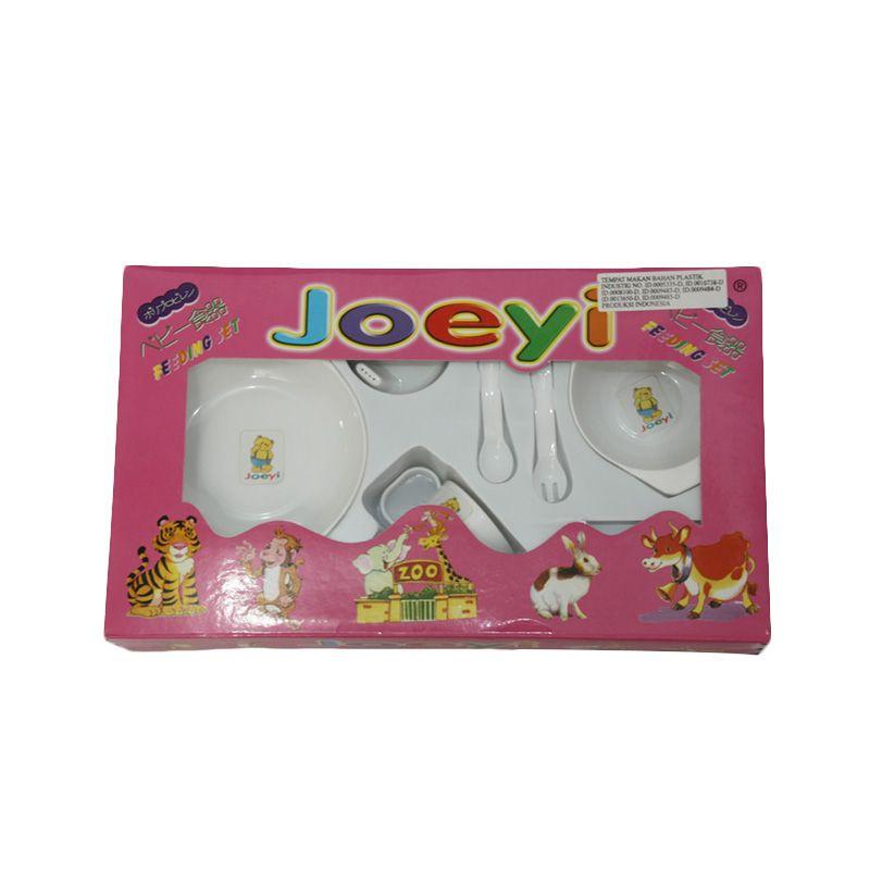 Nathanie Baby Joe White Alat Makan Bayi  [Gift Set]