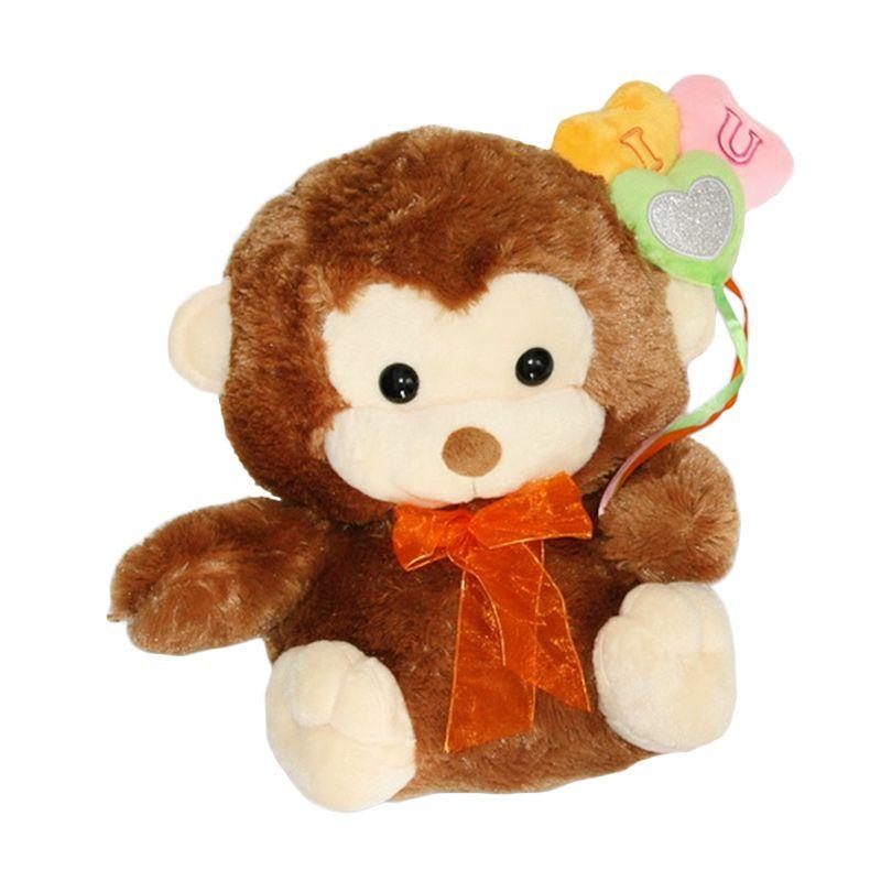 Nathanie Baby Monkey Boneka
