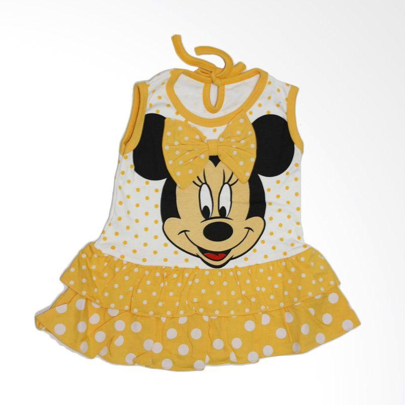 Nathanie Baby Ribbon Mini Yellow Dress Anak