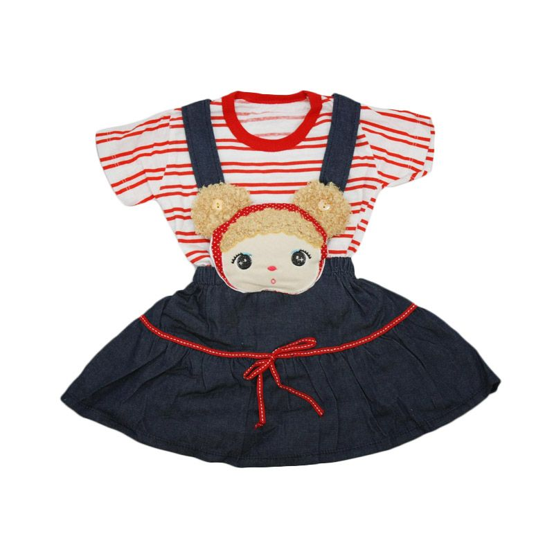 Nathanie Baby Ann Red Dress Anak Perempuan