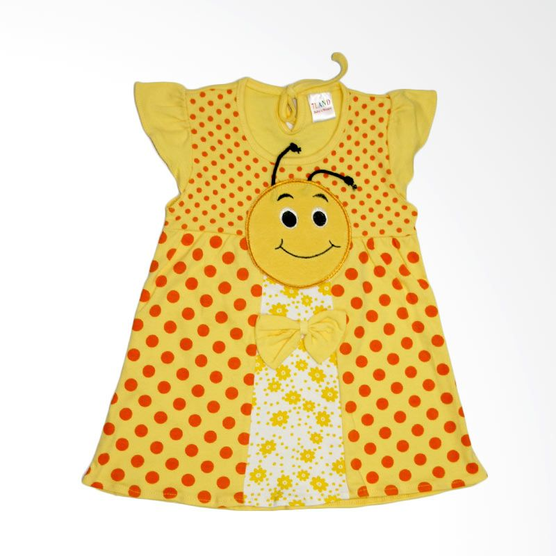 Nathanie Bee Yellow Dress Bayi