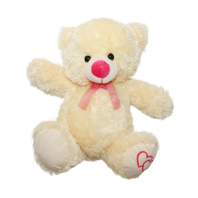 Nathanie Cute Bear Cream Doll