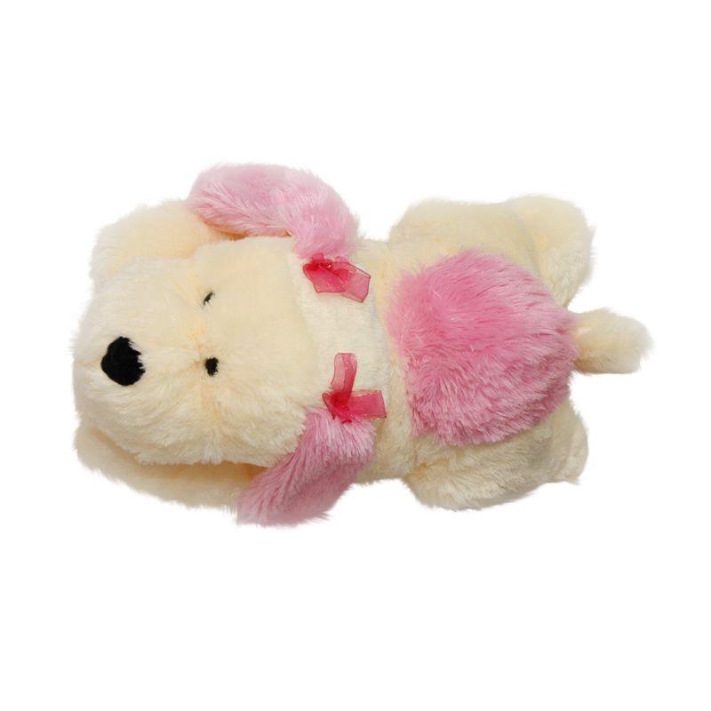 Nathanie Cute Dog Pink Boneka