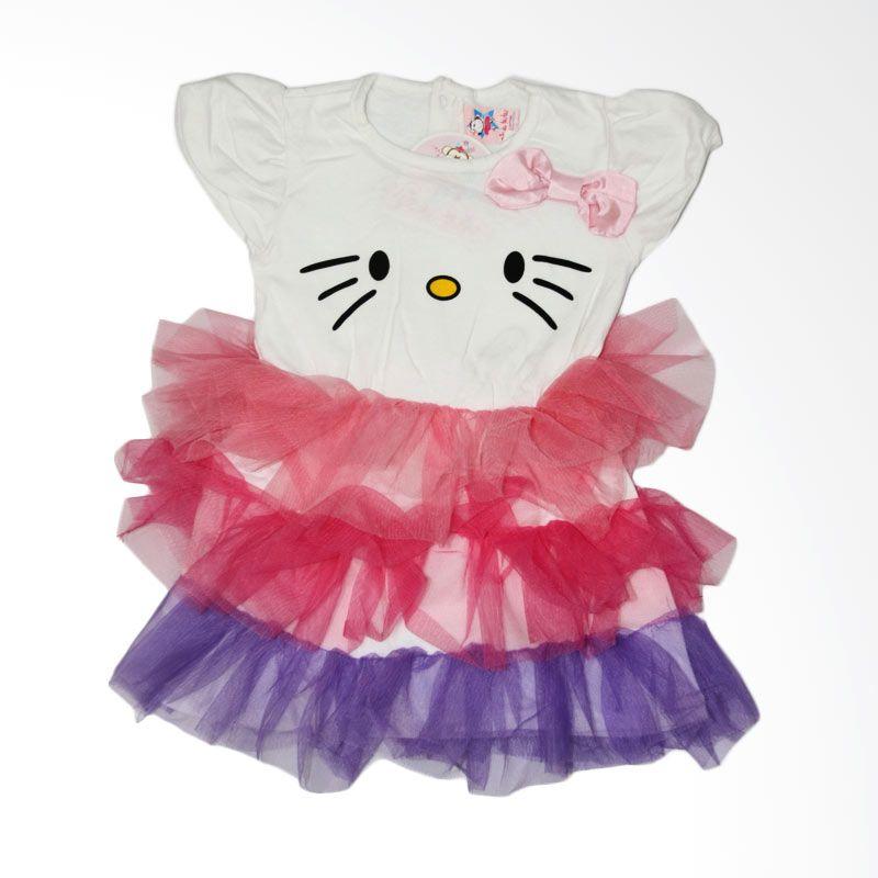 Nathanie Kitty Tutu Pink Dress Bayi