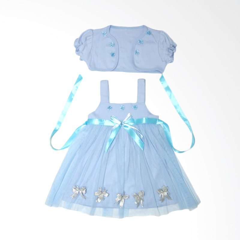 Nathanie Lovely Blue Dress Bayi