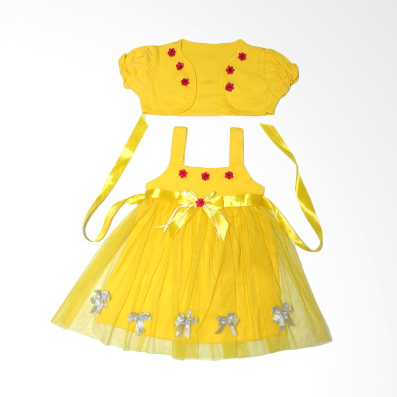 Nathanie Lovely Yellow Dress Bayi