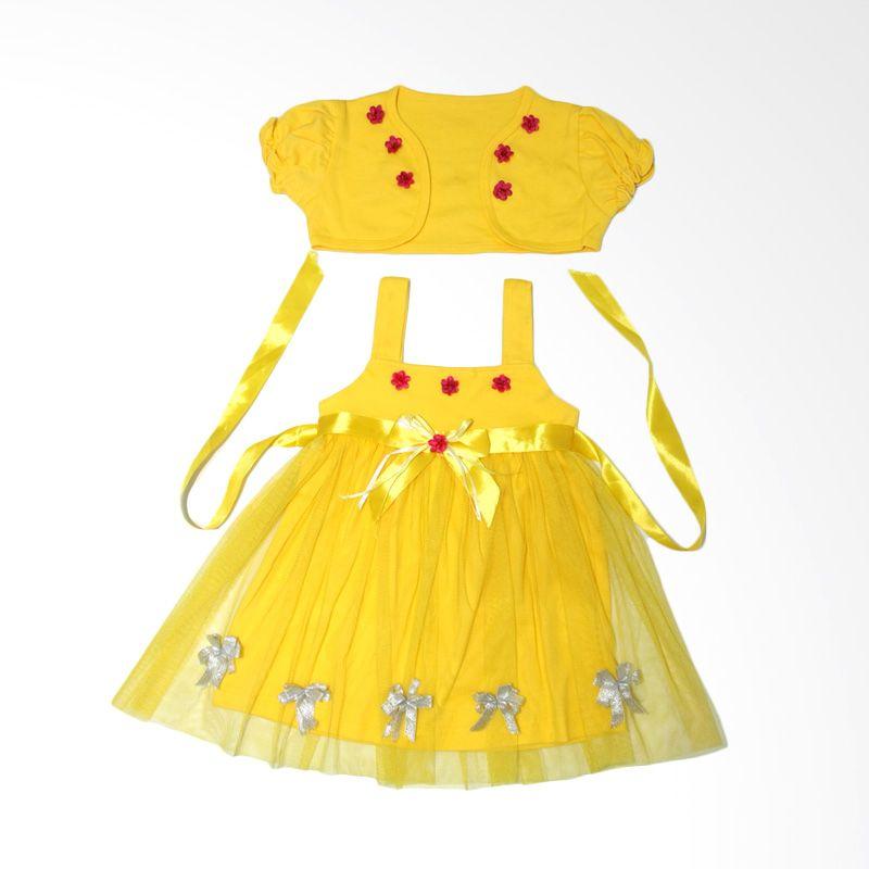 Nathanie Lovely Yellow Dress Bayi