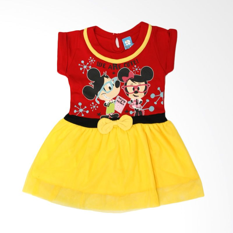 Nathanie Mini Pom Red Dress Bayi