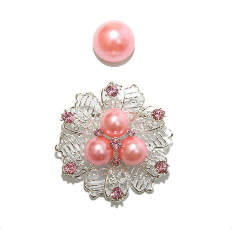 Nathanie Pearl Flower Pink Bros