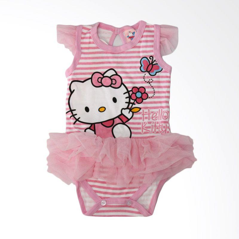Nathanie Pink Tutu Baby Jumpsuit