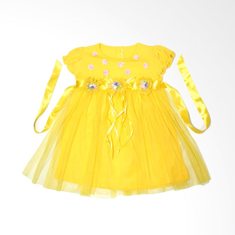 Nathanie Princess Yellow Dress Bayi