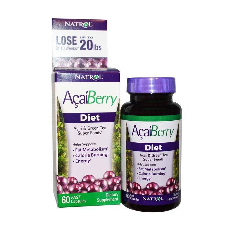 Jual Natrol Acai Berry Diet Acai Green Tea Super Foods Multivitamin Suplemen 60 Kapsul Online Oktober 2020 Blibli Com