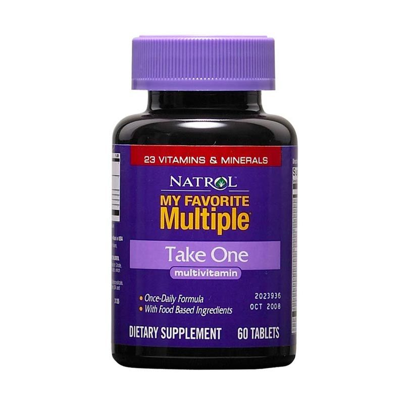 Natrol My Favorite Multiple Take One (60 Tablets) w