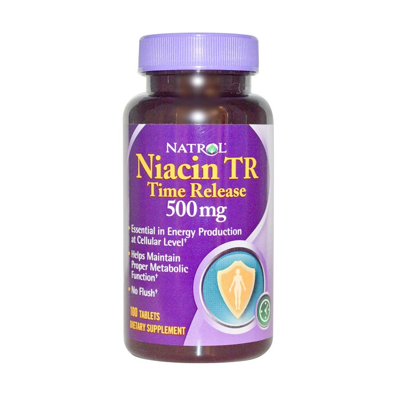 harga Natrol Niacin TR Multivitamin & Suplemen [500 mg x 100 Tablet] Blibli.com