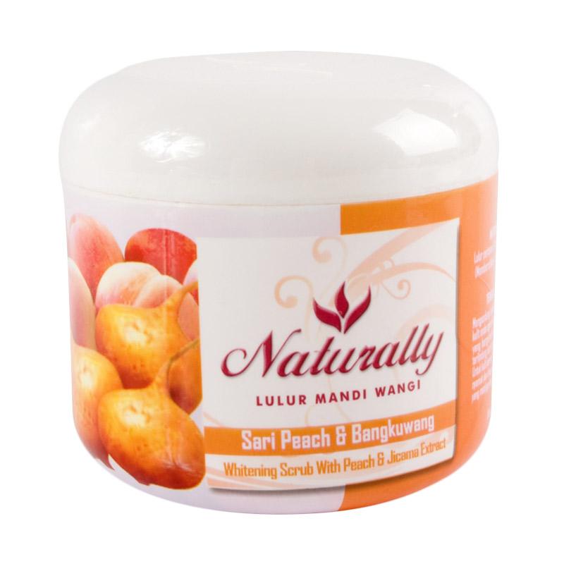 Naturally Lulur Wangi Sari Peach & Bengkoang [200 gr]