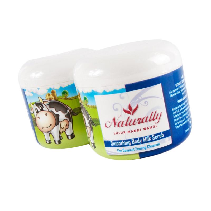 Naturally Smoothing Body Milk Scrub [200gr]
