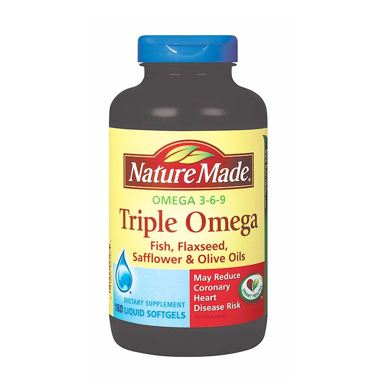 harga Nature Made Triple Omega 369 Suplemen [180 Softgels] Blibli.com