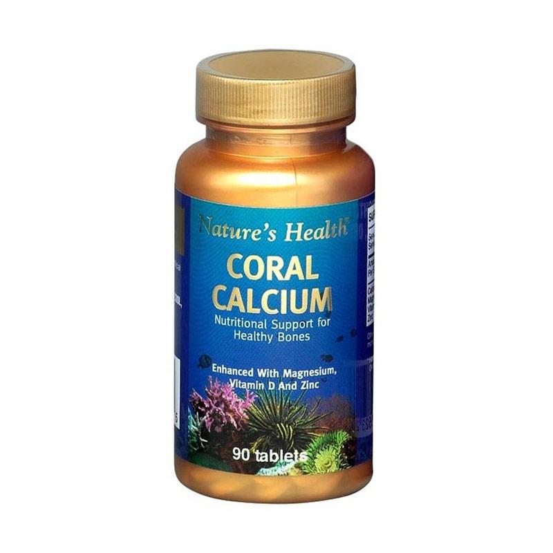 Nature's Health Coral Calcium Suplemen 90 Tab