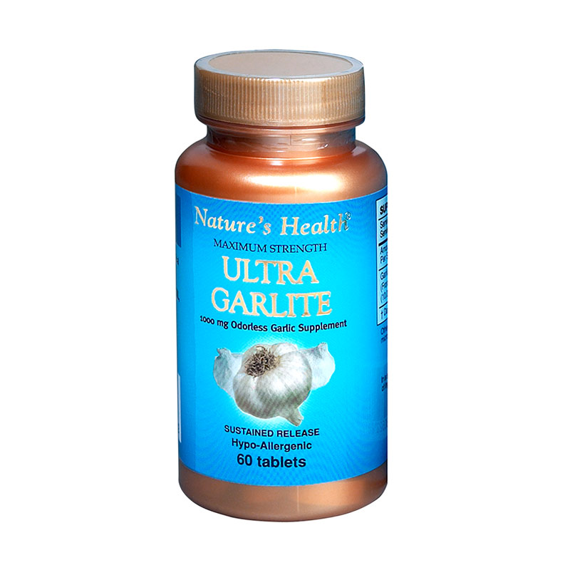 Nature's Health Ultra Garlite [60 tablet]