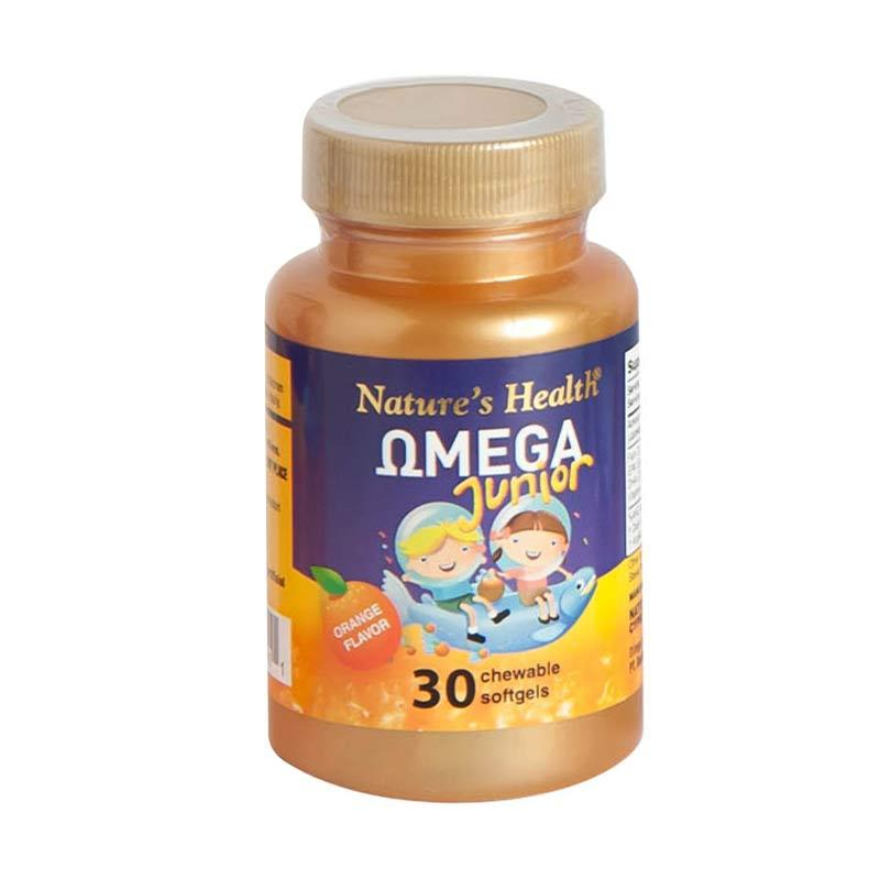 harga Nature's Health Omega Junior (30 Softgels) Blibli.com