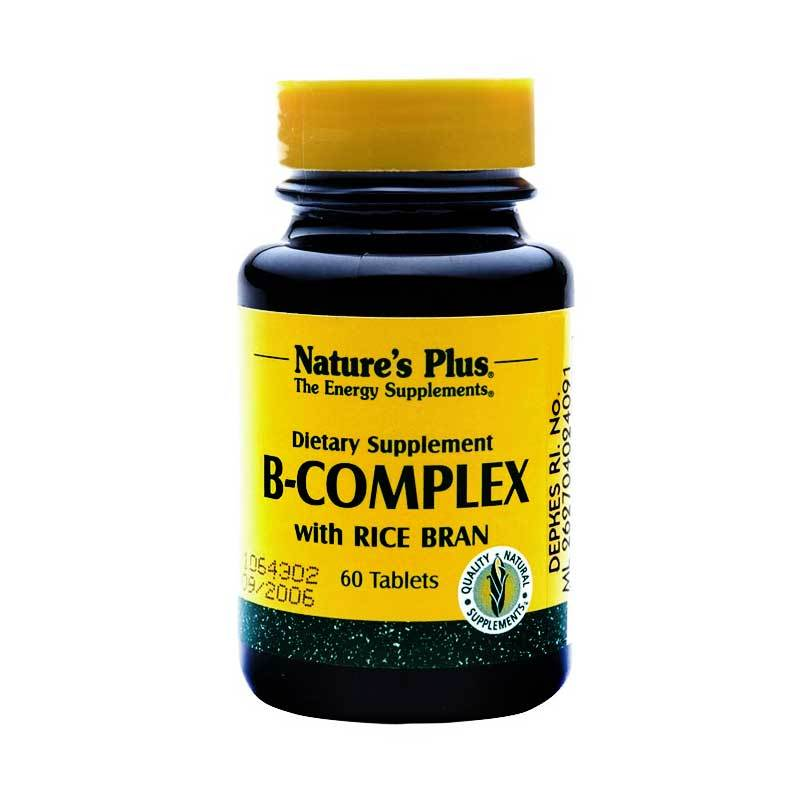 Nature's Plus B Complex (60 Tablets) - W