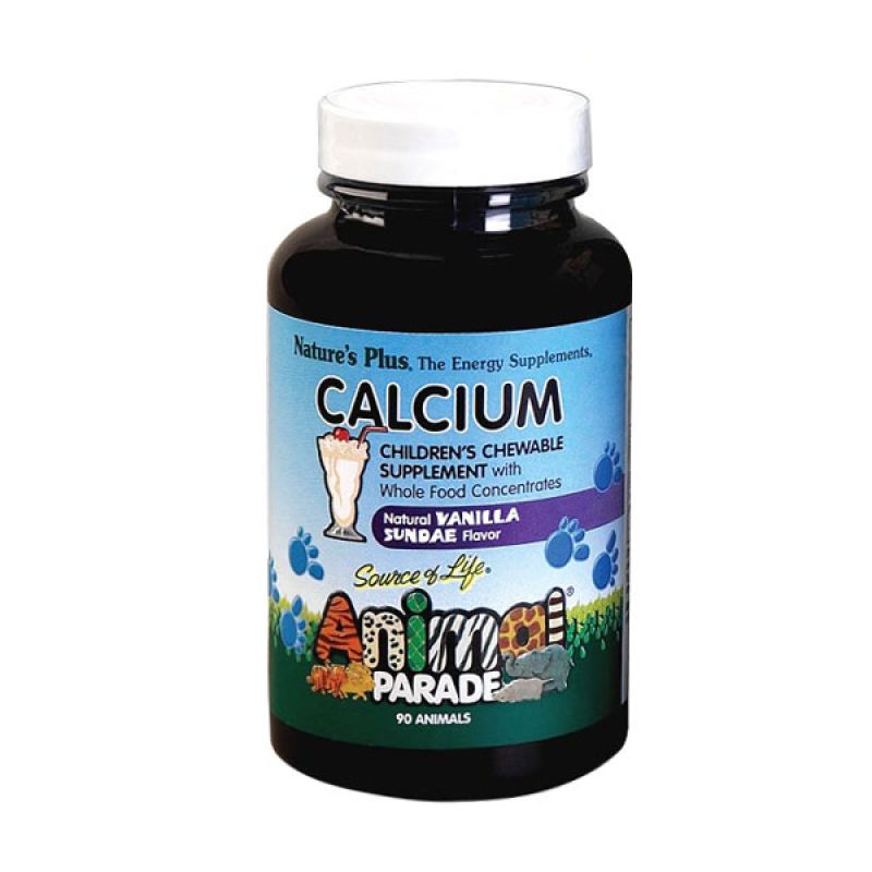 Nature's Plus Calcium Animal Parade (90 tablets)